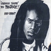 Eddy Grant thanks for the mural painted in Serbia